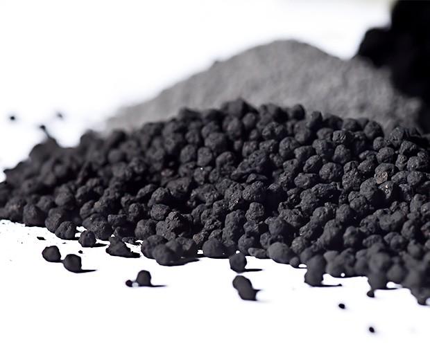 Kohlenstoffgranulat