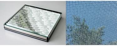 Zu sehen ist ein Beispiel für gebäudeintegrierte Solartechnologien.