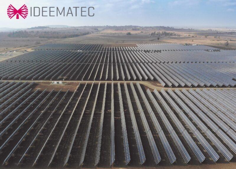 Zu sehen ist ein Ausschnitt des Deckblatts der Studie zu Photovoltaik-Sicherheitsverriegelungen von Trackern bei Starkwind.