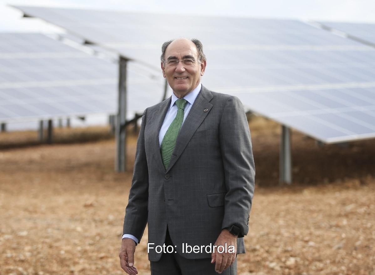 Zu sehen ist Ignacio Galán, CEO von Iberdrola.