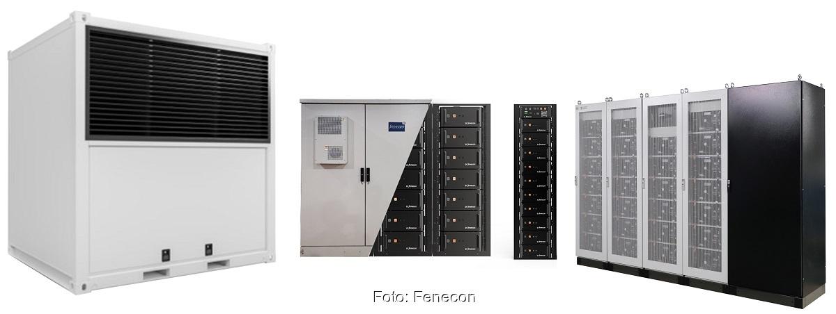 Zu sehen sind Industrie- und Gewerbespeicher zur Miete, die die Fenecon-Tochter Feresto anbietet.