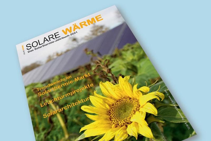 Cover des Solarthermie-Jahrbuchs