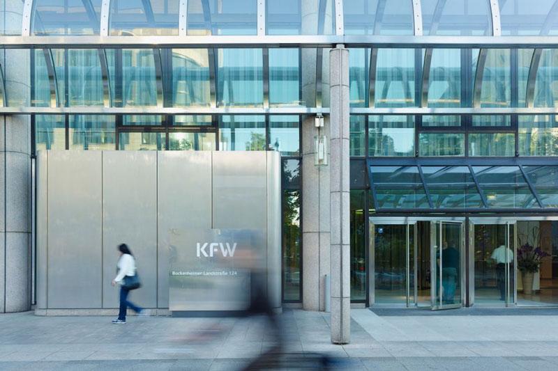 Haupteingang der KfW-Bank