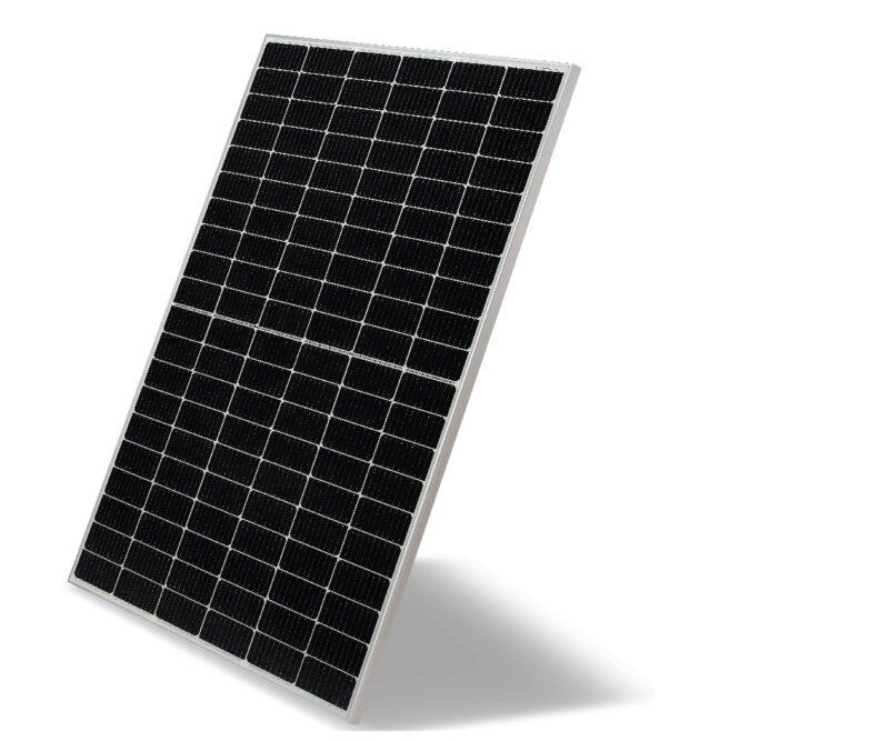 Zu sehen ist ein LG Mono X Plus Photovoltaik-Modul.