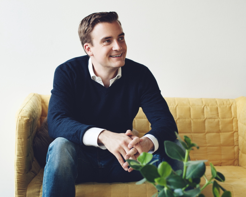 Portrait von Enpal-Gründer Mario Kohle
