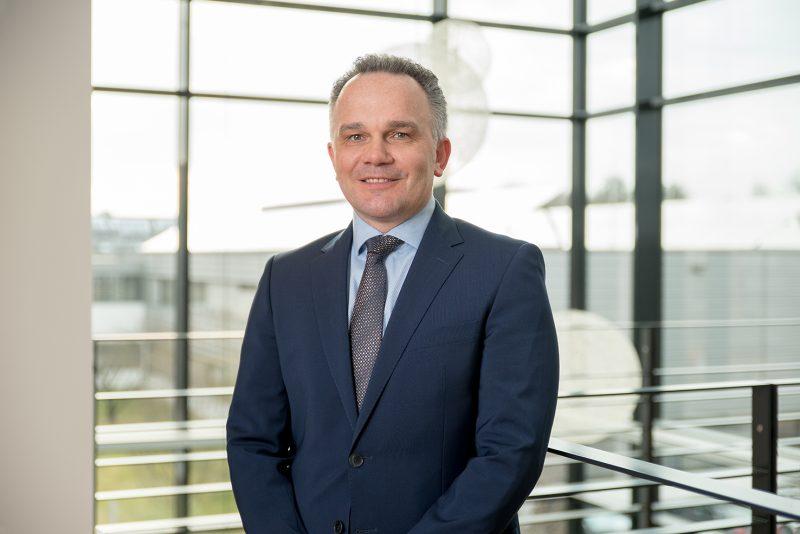 Portrait von Martin Drasch, CEO Manz AG