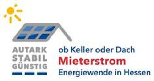 Zu sehen ist eine symbolische Darstellung von Photovoltaik für Mieter in Form eines Mieterstrommodells..