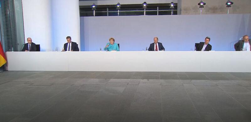 Pressekonferenz der Koalitionsspitzen