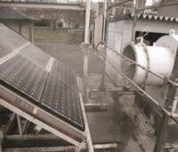 Zu sehen ist ein Teststand für das neue 4-Stufen-Testprotokoll für Photovoltaik-Module.