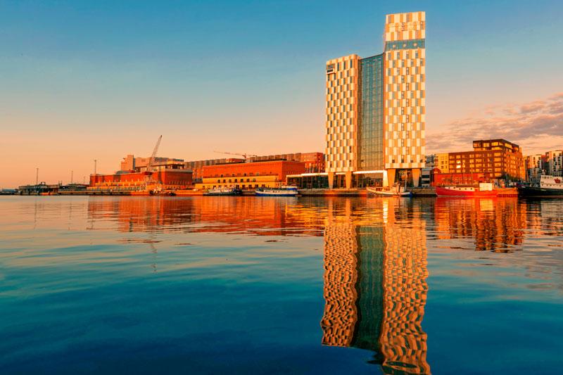 Helsinki im Abendlicht