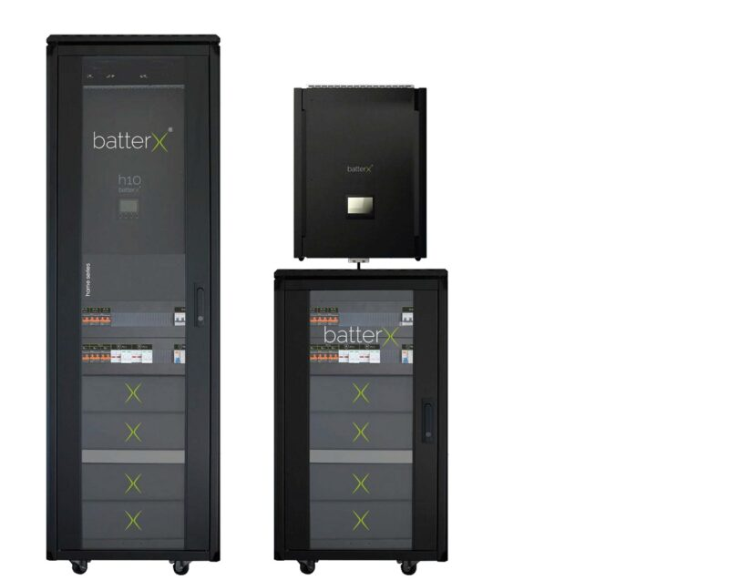 Zu sehen ist die der Photovoltaik-Stromspeicher batterX Home.