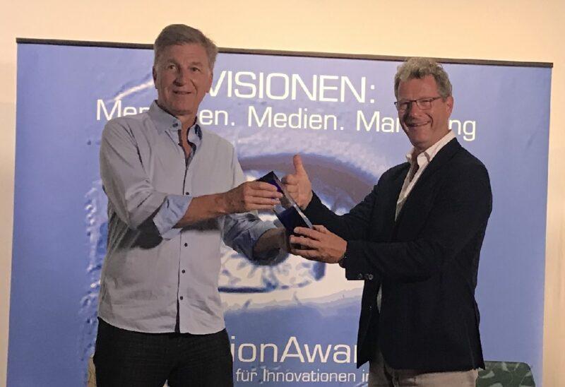 Zu sehen ist die Preisübergabe beim Vision Award. Die Höhle der Löwen folgt Ende September.