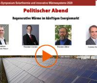 Video des Politischen Abends beim Symposium Solarthermie.