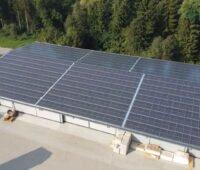 PV-Dach bei Holzbau Wartner GmbH & Co. KG