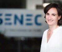 Die Vorstandsvorsitzender der Senec, Aurelie Alemany