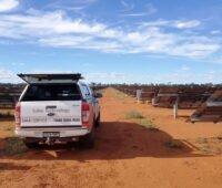 Solarpark in Australien