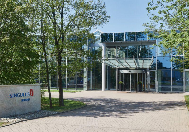 Firmenzentrale von Singulus