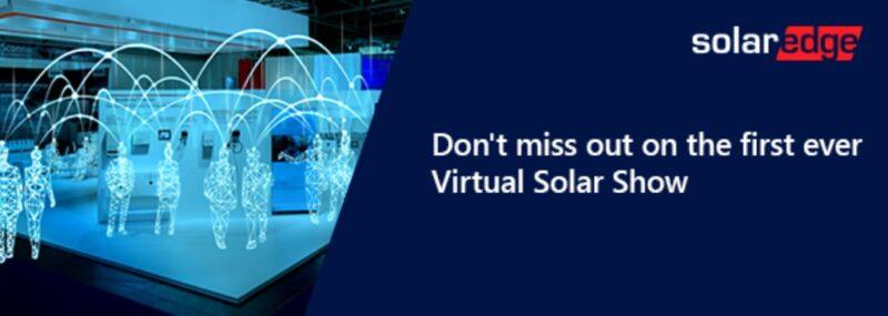 SolarEgde plant virtuelles Solar-Event als Messe-Ersatz.