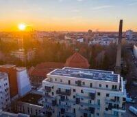 Zu sehen ist ein Mieterstromprojekt von Solarimo. In 2021 will das Unternehmen Photovoltaik für Gewerbe- und Industrieimmobilien anbieten.
