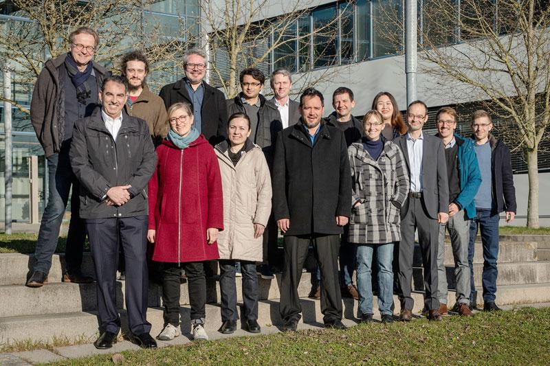Gruppenbild mit ForscherInnen