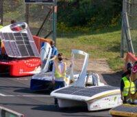 Straterfeld bei der Solarchallenge in Australien