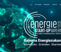 Startseite des Start-up-Wettbewerbs