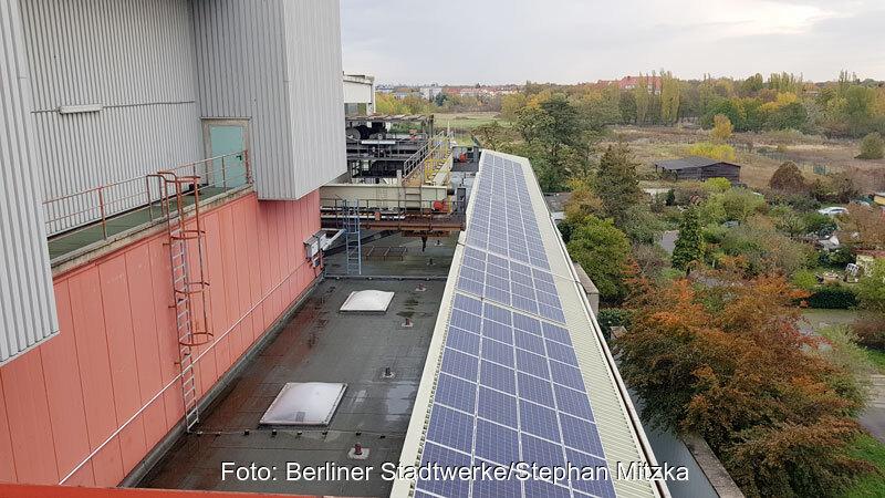 berliner stadtreinigung bekommt photovoltaik aufs dach. Black Bedroom Furniture Sets. Home Design Ideas