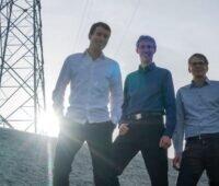 Die drei Gründer der Firma Streamergy Daniel Schneider, Martin Schneider und Stefan Rensberg