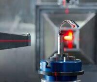 Zu sehen ist der Versuchsaufbau für die Neutronenstreuung an der TU München.