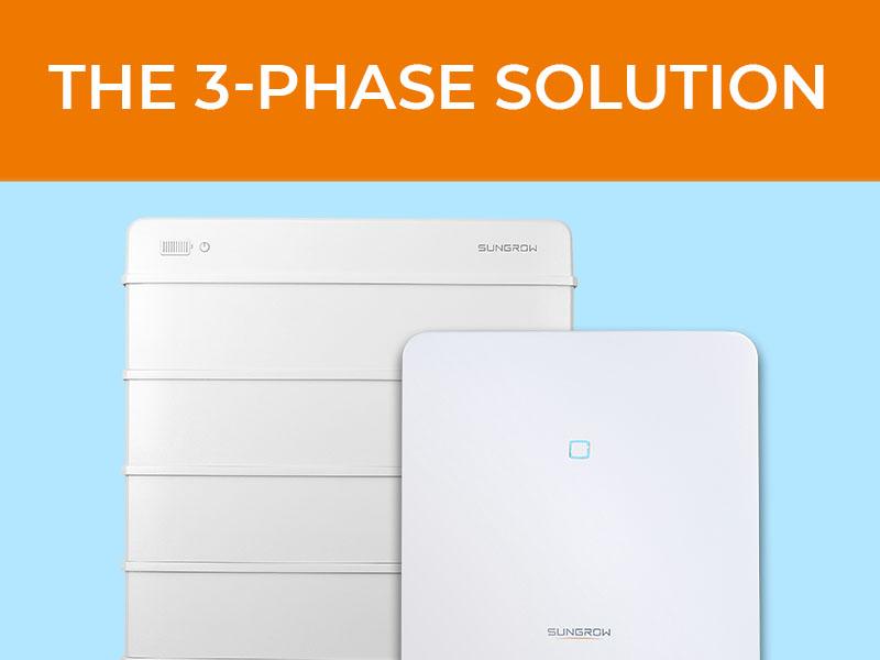 Sungrow: The 3 Phase Solution; Bild von Heimspeicher