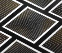 Detailaufnahme einer Solarzelle