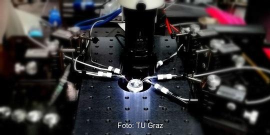 Zu sehen ist das neue CD-Labor für Festkörperbatterien an der TU Graz.
