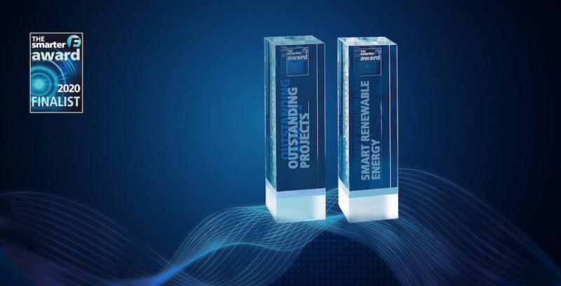 Trophäe des The-smarter-E-Award