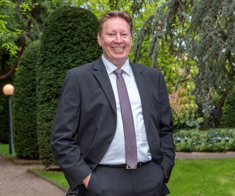 Portrait des Unternehmers Torsten Szielasko