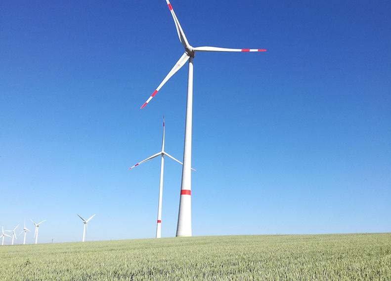 Windpark in Uthleben, an dem nun Bürgerenergie-Genossenschaften beteiligt sind