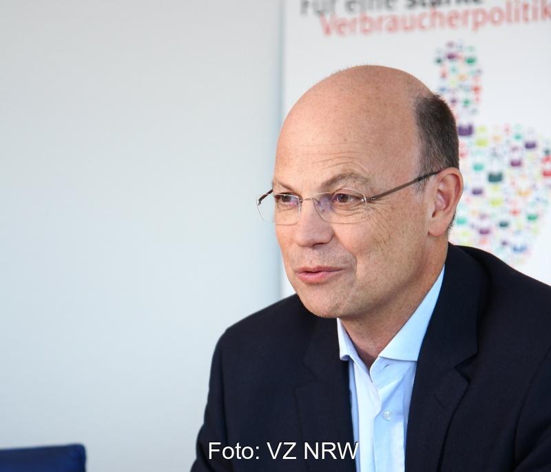 Portrait von Wolfgang Schuldzinski, Vorstand der Verbraucherzentrale NRW