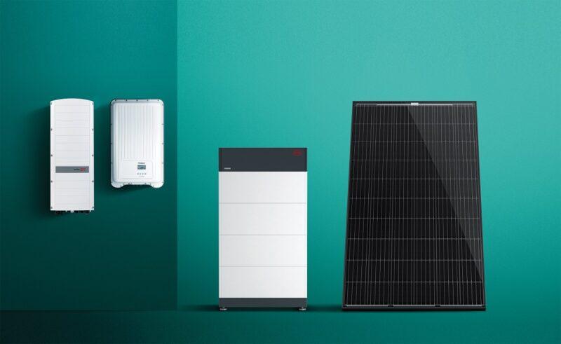 Zu sehen ist das neue Photovoltaik-Angebot von Vaillant.