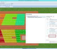 Das Bild zeigt die Bildschirmansicht vom Photovoltaik-Simulationsprogramm PV*SOL.