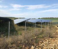 Solarpark im ehemaligen Steinbruch Kersch