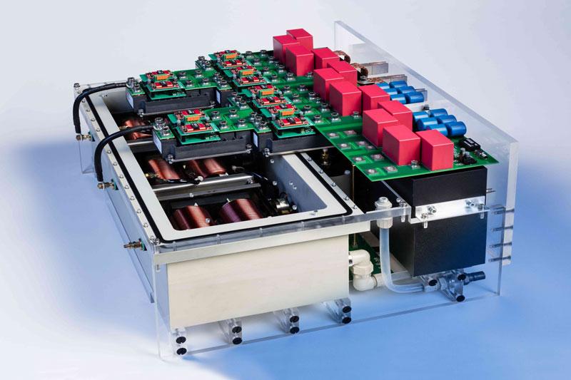 Labormodell des neuen Wechselrichterstags