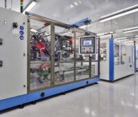 Ein Maschinenraum des ZSW zur Produktion von Batterien