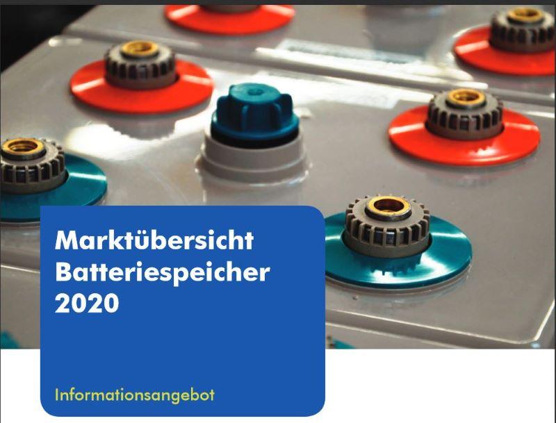 Titelbild der Speicherübersicht zeigt Anschlussboxen.