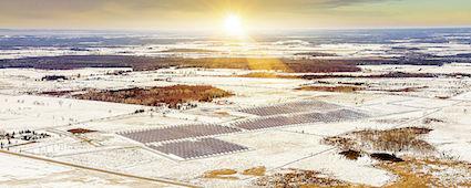 Solarpark von Canadian Solar