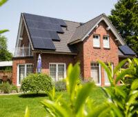 Photovoltaikanlage auf einen Einfamilienhaus