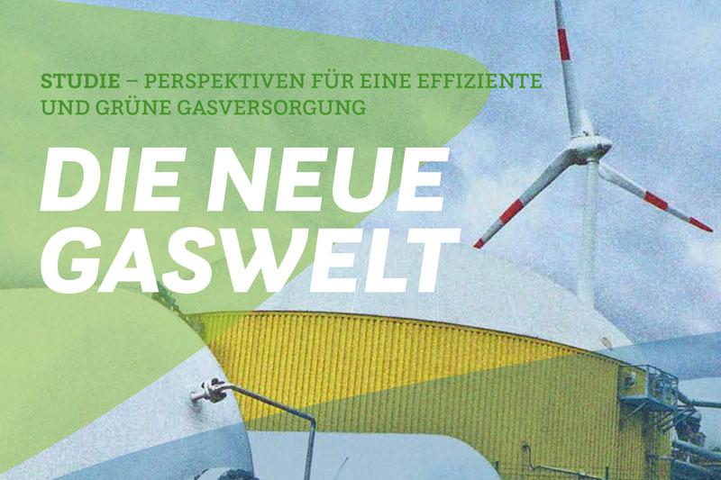 """Titelseite der Studie """"Die neue Gaswelt"""""""