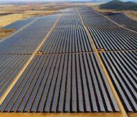 Zu sehen ist der Photovoltaik-Solarpark Bienvenida.