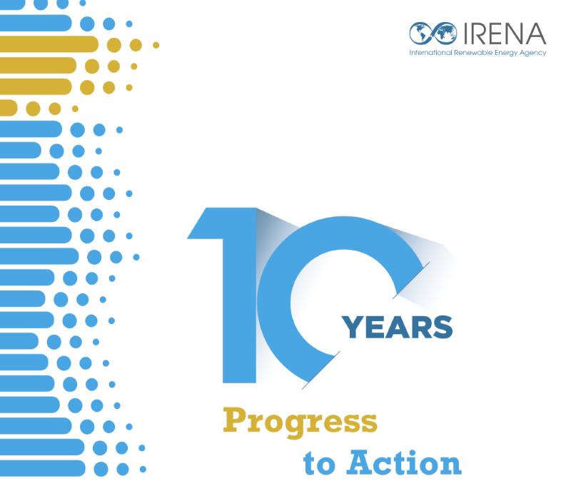 Das Titelbild einer Broschüre der Internationalen Agentur für erneuerbaren Energien.
