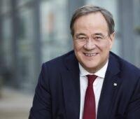Zu sehen ist NRW-Ministerpräsident Armin Laschet, der für den CDU-Vorsitz ohne klare Vorstellungen zum Klimaschutz kandidiert.