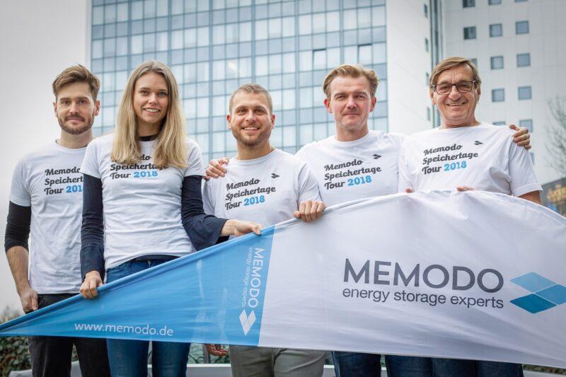Gruppenbild mit Memodo-Mitarbeitern