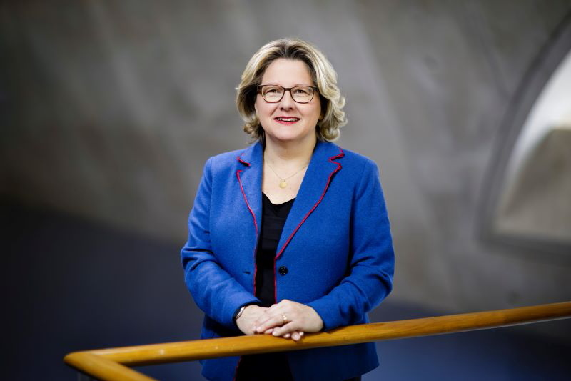 Bundesumweltministerin Svenja Schulze im Portrait